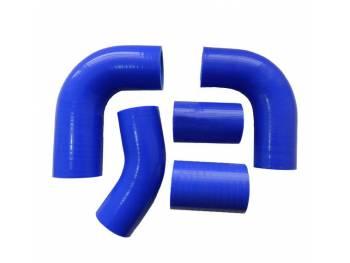 Комплект силиконовых патрубков радиатора УАЗ 452/469 дв. 4215 (100 л.с.) (5 шт)