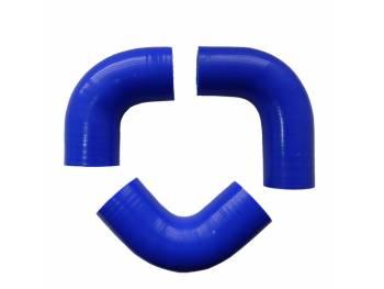 Комплект силиконовых патрубков радиатора УАЗ-452/469 дв. 417 (90 л. с.),(3 шт.)