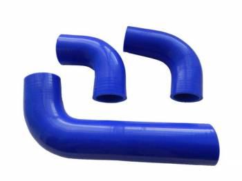 Комплект силиконовых патрубков радиатора УАЗ-452 Хантер дв. 4213 (3 шт)