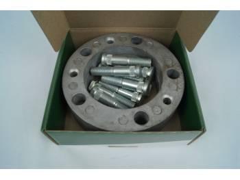 Расширитель колеи (ступичные проставки) УАЗ (5*139,7) 25 мм (дюраль) в коробке со шпильками