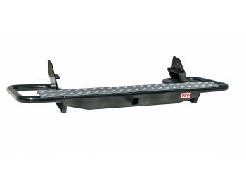 Бампер РИФ силовой задний Mitsubishi L200 2005-2015 (кузов 1350 мм) с квадратом под фаркоп трубный