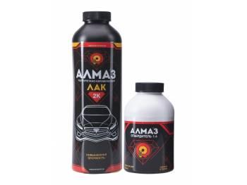 Полиуретано-керамический 2К лак АЛМАЗ - Матовый