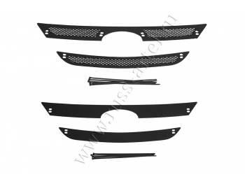 Защитная сетка и зимняя заглушка решетки радиатора Lada (ВАЗ) Largus 2012-2019
