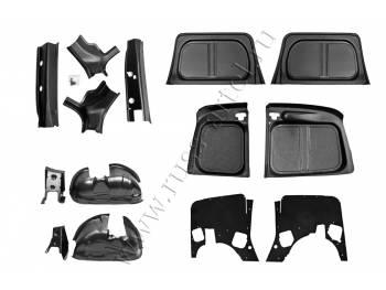 Защитный комплект №2 (усиленный) со скотчем 3М Lada (ВАЗ) Largus фургон 2012-2019