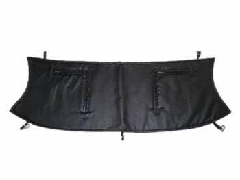 Утеплитель радиатора УАЗ Патриот до 2014 (в/кожа, поролон, ватин) чёрный
