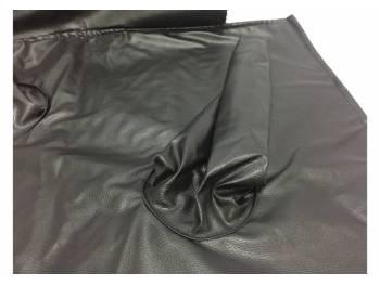 Коврик под рычаги КПП на УАЗ Хантер (в/кожа, поролон, ватин) 2 рычага, чёрный