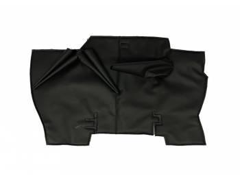 Коврик под рычаги КПП УАЗ 452, Буханка (винил/кожа, поролон, ватин) 3 рычага, черный