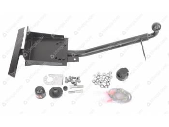 Крюк буксирный ТСУ (фаркоп) УАЗ 3160 ,Хантер У 02 (под шар)