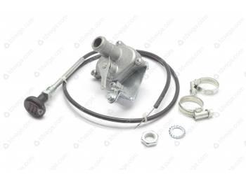Кран отопителя УАЗ 3741 инж. керамический с установоч. комплектом D-20 (452-8101400-20)