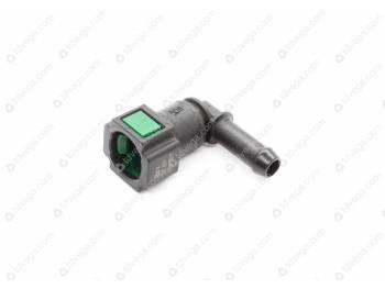Соединитель пластмассовый УАЗ 3163 дв. IVECO угловой (3163-10-1104410-00)