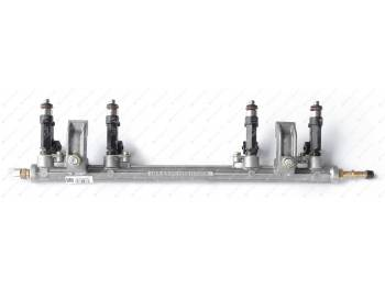 Топливопровод УМЗ-4216 ЕВРО-3 Газель , УАЗ рампа с форсунками ПЕКАР (4216.1104010-06)