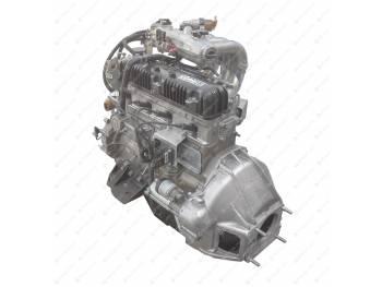 Двигатель УМЗ (Газель Бизнес Евро-3) под ГУР с поликл. ремнем пр. агрегатов (4216.1000402-70)