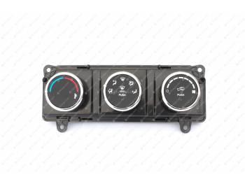 Пульт управления системы вентиляции и отопления УАЗ Патриот (с 2016 г.в.) без кондиционер (3163-00-8109010-50)