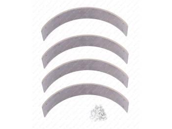 Ремкомплект колодки барабанного тормоза УАЗ  Эксперт (АДС) (№025)