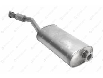 Глушитель УАЗ Пикап ЕВРО-3 (Баксан) с гофрой нерж. (2360-00-1201010-211)