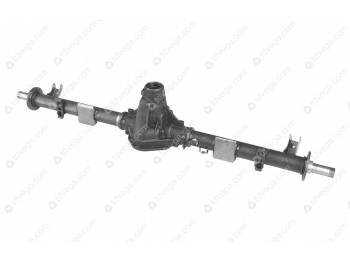 Картер заднего моста УАЗ-3162 с кожухами без АБС (под новые тормоза) (3162-00-2401010-20)