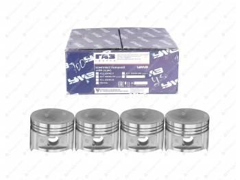 Поршень 100,0 УМЗ-4216 под газ (4 шт.) Евро-4 /узкие кольца/ группа В (42164.1004018)