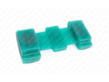 Подушка рессоры (полиуретан) зеленая г.Новосибирск (арт. 14-12-001-G) (451Д-2902430)