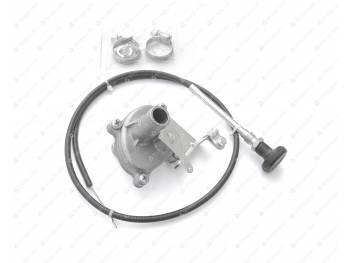 Кран отопителя УАЗ 3741 керамический с установоч. комплектом D-18 (452-8101400-18)