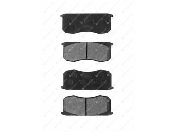Колодка тормозная дисковая КиТ (к-т 4 шт.) (KNU-3501090-61) (3160-00-3501090-97)