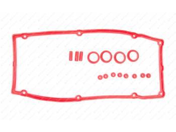 Ремкомплект прокладок клапанной крышки дв. 406 (16 дет.) РОСТЕКО (406-1007248/43/87/45)