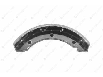 Колодка центрального (стояночного) тормоза АДС (42000.0069-00-3507014-00)