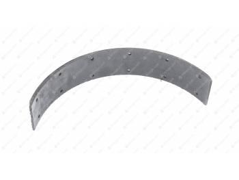 Накладка тормозной колодки длинная (сверленая) (Фритекс) (20-3501105)