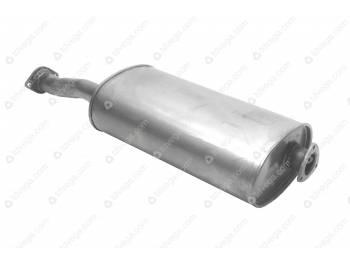 Глушитель УАЗ Пикап (Баксан)нерж. (2360-00-1201010-201)