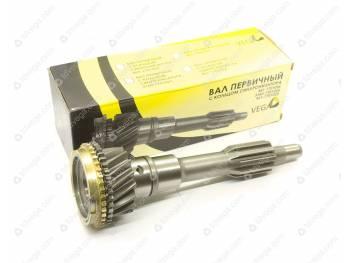 Вал первичный с кольцом синхронизатора 4 ст толстый (диаметр вала 35 мм ) VEGA (0469-00-1701025-00)