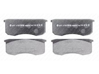 Колодка тормозная дисковая Альфа (4 шт) (3160-00-3501090)