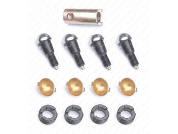 Ремкомплект шкворневого узла 3162, 3163 Спайсер (вкладыш латунный 2 уса) ExpertDetal (3162-00-2304019-04)