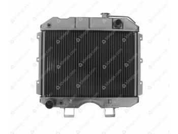 Радиатор водяного охлаждения 3-х рядный (МЕДНЫЙ) УАЗ 452, 469 карб. Иран (3741-1301010-04)