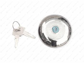 Пробка бака 452 с ключом (метал.) хромированная MetalPart (МР-452-1103010)