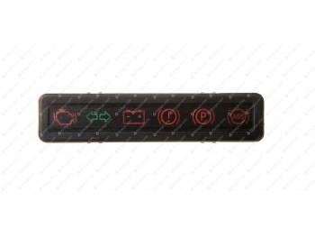 Блок контрольных ламп с проводами (3741-95-3803200-10)