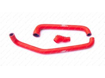 Патрубки регулировки холостого хода 409 дв. (3 шт) силикон