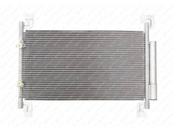 Конденсатор(радиатор)кондиционера с рессивером Патриот(05.2012)Sanden(LRAC 03631)LUZAR (3163-00-8131020-30)
