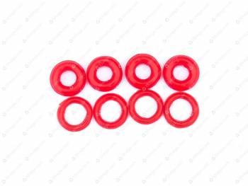 Кольцо уплотнительное форсунки ЕВРО-4 (8шт) РОСТЕКО (42164-2904072/406-1004122)