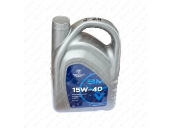 Масло моторное ZMZ 15W40, минеральное 5л (0000-00-4734093-00)