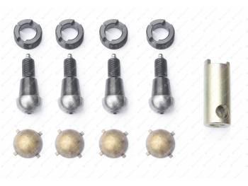 Ремкомплект шкворневого узла 3162, 3163 Спайсер (вкладыш латунный с/о 4 уса) MetalPart (МР-3160-2304014)