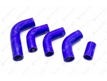 Патрубки радиатора УАЗ 315195 Хантер дв. 409 инж. (5 шт) (силикон)