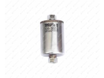 Фильтр топливный тонкой очистки Хантер ,Патриот под штуцер (рез. соед.) нерж(BIG FILTER) (GB-302)