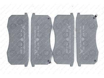 Колодка тормозная дисковая АО УАЗ (Патриот, СГР) (к-т 4 шт)с противошум. покрытием/новинка/ (3163-00-3501088-05)
