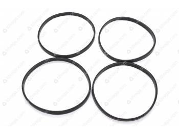 Кольцо уплотнительное гильзы (резин. 4шт) (min 5) (21-1002024)