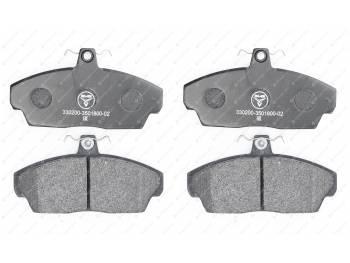 Колодка тормозная дисковая переднего тормоза Газель, ГаZ 3110, Собол_ь ( ОАОУАЗ) (3302-00-3501800-02)
