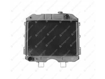 Радиатор водяного охлаждения 2-х рядный (МЕДНЫЙ) УАЗ-452,469 карб. Иран (3741-00-1301010-95)