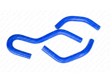 Патрубки отопителя ГАЗон NEXT (3 шт) силикон