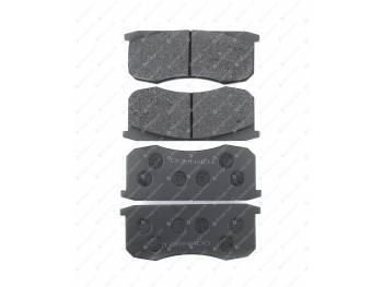 Колодка тормозная дисковая Торнадо (4 шт) (3160-00-3501090)