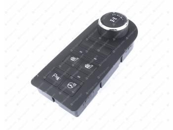 Блок переключателей упр-я режимами РК УАЗ-Патриот (56.3769-80)(с обогревом сиденья, руля, парковка (3163-00-3769216-00)