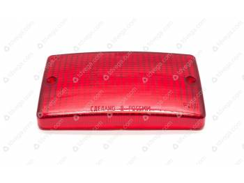 Рассеиватель фонаря заднего противотуманного (красный)