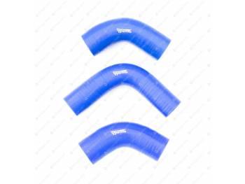 Патрубки радиатора УАЗ 90 л.с (3шт) 452/469 дв. 417 (силикон)
